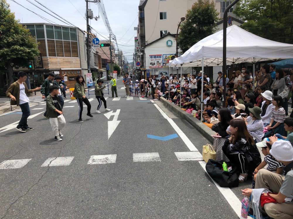 KOUJI先生クラスの生徒さんが踊りました!!!