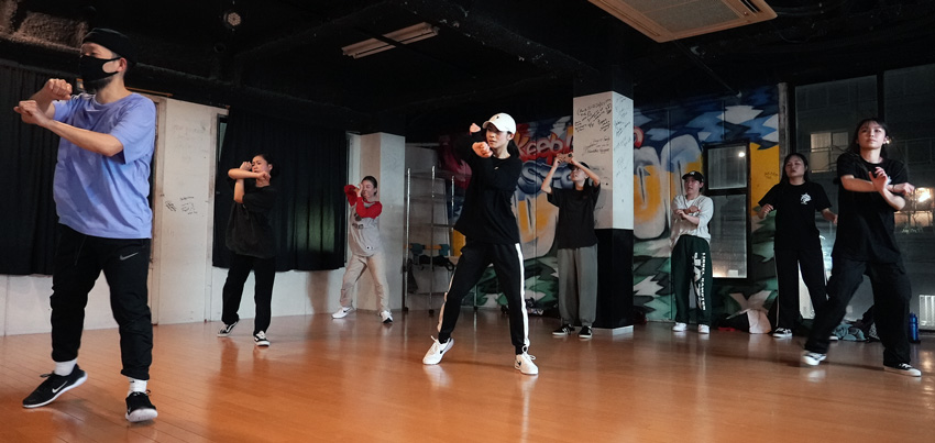 Hip Hop 初中級(金曜日)