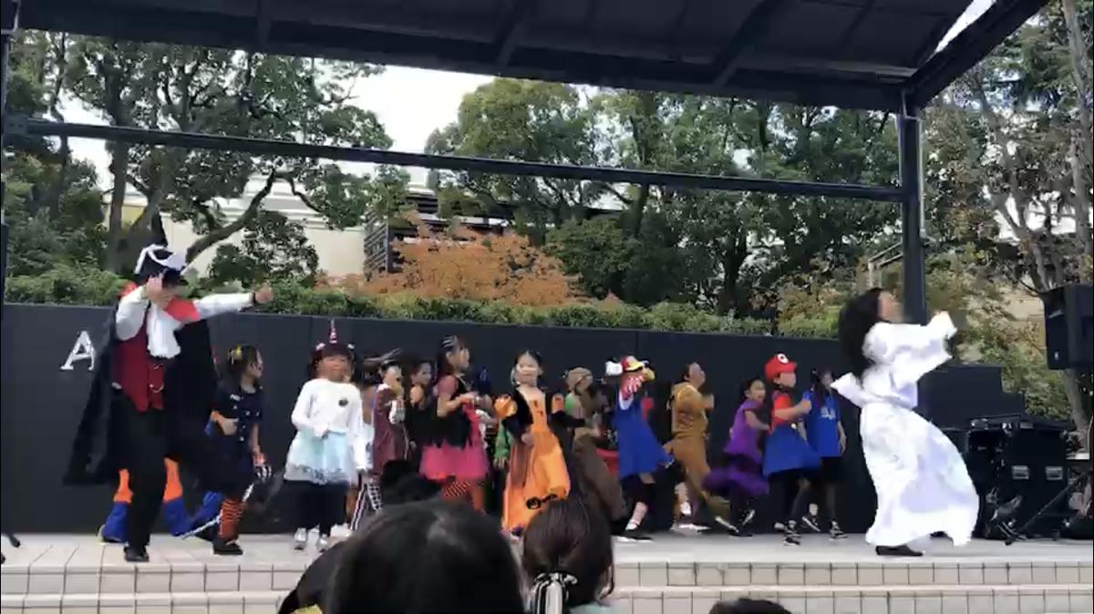 アリオ倉敷でダンス♪